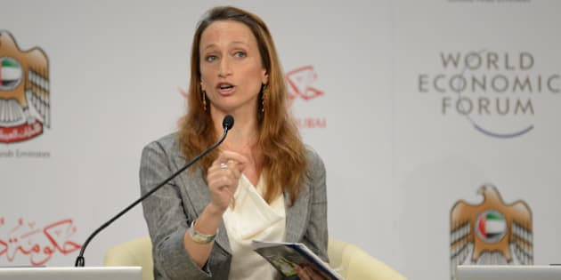 """DUBAI, UNITED ARAB EMIRATES, 14 November 2012 - Céline Cousteau, Founder and Chief Executive Officer, CauseCentric Productions, USA; Global Agenda Council on Oceans, speaks during a plenary session on 21st century challenges at the World Economic Forum's Summit on the Global Agenda 2012 held in Dubai from 12-14 November 2012. Copyright <a href=""""http://www.weforum.org"""" rel=""""nofollow"""">World Economic Forum</a> (<a href=""""http://www.weforum.org"""" rel=""""nofollow"""">www.weforum.org</a>)/Photo by Norbert Schiller"""