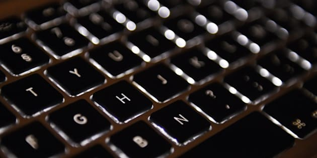 A picture taken on April 17, 2015 in Paris shows the keyboard of a laptop computer.  AFP PHOTO / LOIC VENANCE        (Photo credit should read LOIC VENANCE/AFP/Getty Images)