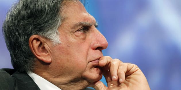 Ratan Tata, chairman of Tata Sons, attends the Clinton Global Initiative, Thursday, Sept. 23, 2010, in New York. (AP Photo/Mark Lennihan)