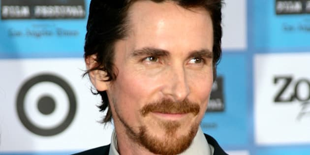 Actor Christian Bale (Melvin Purvis) at the red carpet premiere of <i>Public Enemies</i>. It took place at the Mann Village Westwood during the 2009 Los Angeles Film Festival.