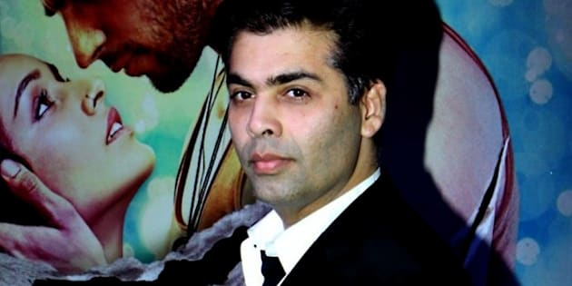 Indian Bollywood director Karan Johar poses during a success party for the Hindi film 'Ek Villain' in Mumbai on July 15, 2014. AFP PHOTO/STR        (Photo credit should read STRDEL/AFP/Getty Images)