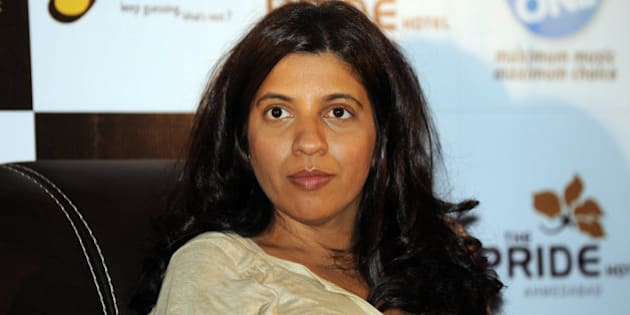 Indian Bollywood director of Hindi film 'Zindagi Na Milegi Dobara' Zoya Akhtar attends a promotional event for the release of the new Hindi film,in Ahmedabad on July 8, 2011. The film's cast along with the producers are currently on a Mumbai to Delhi promotional tour for the new movie. AFP PHOTO / Sam PANTHAKY (Photo credit should read SAM PANTHAKY/AFP/Getty Images)