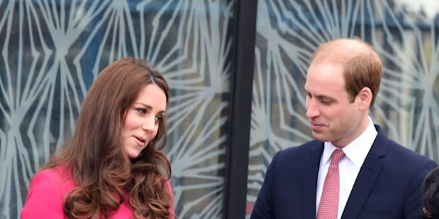 Photo by: KGC-03/STAR MAX/IPx 3/27/15 Prince William The Duke of Cambridge and Catherine The Duchess of Cambridge visit the Stephen Lawrence Centre in Deptford. (London, England, UK)