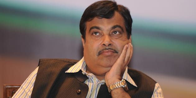 Indian Bharatiya Janata Party (BJP) president, Nitin Gadkari, gestures at a function  in New Delhi on November 5,2012. Gadkari has been the target of corruption allegations from anti-corruption activists for alleged financial impropriety in business dealings in connection with his Purti Group, a group of companies with presence across multiple industries such as real estate, energy, and infrastructure .  AFP PHOTO/SAJJAD HUSSAIN        (Photo credit should read SAJJAD HUSSAIN/AFP/Getty Images)