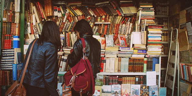 Friends with books. Argentina, Buenos Aires.