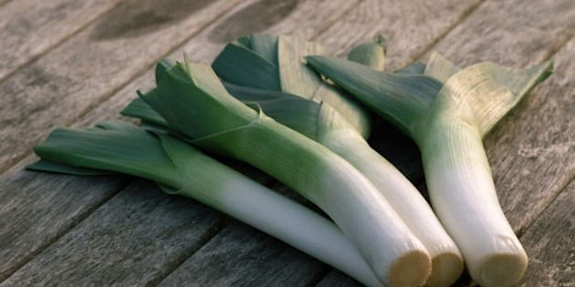 AUCKLAND, NEW ZEALAND - SEPTEMBER 14:  Leeks.  (Photo by Alex Robertson/Getty Images)