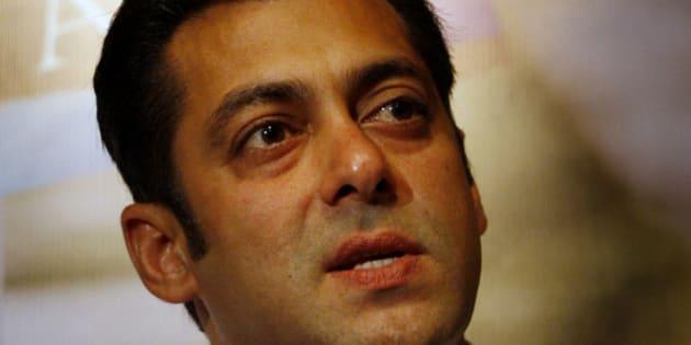 "Bollywood actor Salman Khan speaks during a press briefing on his film ""Ready"" in Colombo, Sri Lanka, Wednesday, June 30, 2010. Khan has begun shooting his latest film ""Ready"" in the Indian Ocean island of Sri Lanka. (AP Photo/Eranga Jayawardena)"
