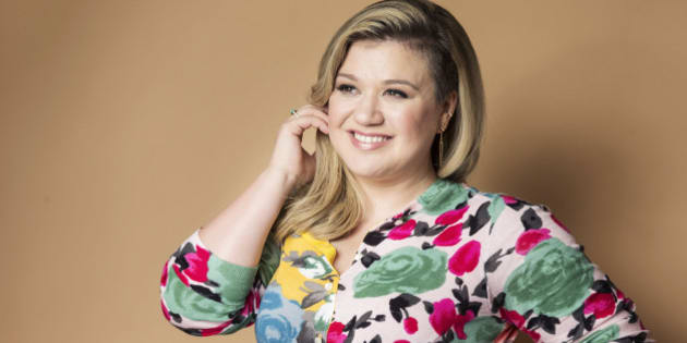 """American singer and songwriter Kelly Clarkson poses for a portrait in promotion of her forthcoming album """"Piece by Piece"""" at the Sony Club, on Wednesday, March 4, 2015 in New York. (Photo by Victoria Will/Invision/AP)"""