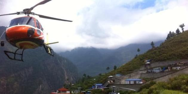 Group of Israelis reaches Dhunche, Nepal after being rescued by Israel MFA team.