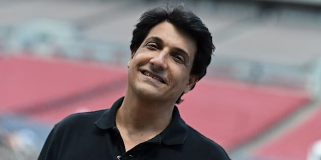 Choreographer Shiamak Davar smiles for the media during a rehearsal at the Raymond James Stadium on the fourth and final day of the 15th International Indian Film Academy (IIFA) Awards in Tampa, Florida, April 26, 2014. AFP PHOTO JEWEL SAMAD        (Photo credit should read JEWEL SAMAD/AFP/Getty Images)