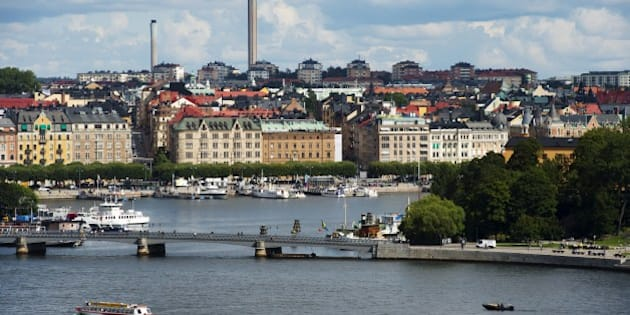A view of buildings in Stockholm's Oestermalm, on August 24, 2012. AFP PHOTO / JONATHAN NACKSTRAND        (Photo credit should read JONATHAN NACKSTRAND/AFP/Getty Images)