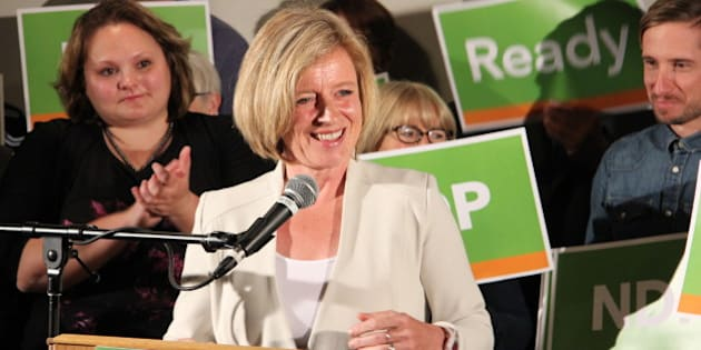 Edmonton-Strathcona MLA Rachel Notley launches her campaign to become leader of Alberta's NDP (June 16, 2014).