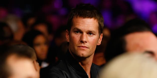 LAS VEGAS, NV - MAY 02: NFL quarterback Tom Brady attends the welterweight unification championship bout on May 2, 2015 at MGM Grand Garden Arena in Las Vegas, Nevada.  (Photo by Al Bello/Getty Images)