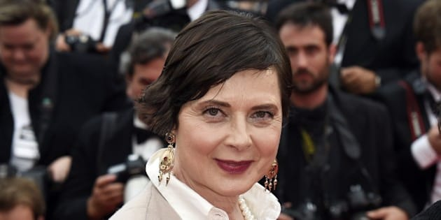 Italian actress and director and President of the Un Certain Regard Jury Isabella Rossellini poses as she arrives for the screening of the film 'An' during the 68th Cannes Film Festival in Cannes, southeastern France, on May 14, 2015. AFP PHOTO / LOIC VENANCE        (Photo credit should read LOIC VENANCE/AFP/Getty Images)