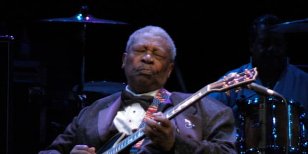 BB King live in Trento (Italy) 11/07/2004