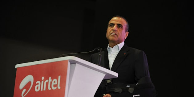 Chairman and Managing Director of the Bharti Airtel Limited, Sunil Mittal delivers his speech during the launch of Airtel's 4G services in Kolkata on April 10, 2012.  This is the first 4G service launched in the country and within a span of a month Airtel will launch its 4G service to the next three circles in the country which include Bangalore, Pune and Chandigarh. The company claims that the 4G services will deliver High Definition (HD) video streaming, instant photo and video downloads and high speed on wireless broadband. AFP PHOTO/Dibyangshu SARKAR (Photo credit should read DIBYANGSHU SARKAR/AFP/Getty Images)