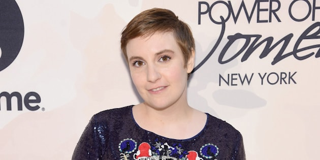 NEW YORK, NY - APRIL 24:  Actress Lena Dunham attends Variety's Power of Women New York presented by Lifetime at Cipriani 42nd Street on April 24, 2015 in New York City.  (Photo by Jamie McCarthy/Getty Images for Variety)