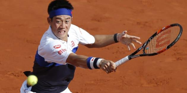 錦織圭、ベスト4進出ならず テニス全仏オープン、フルセットの激闘