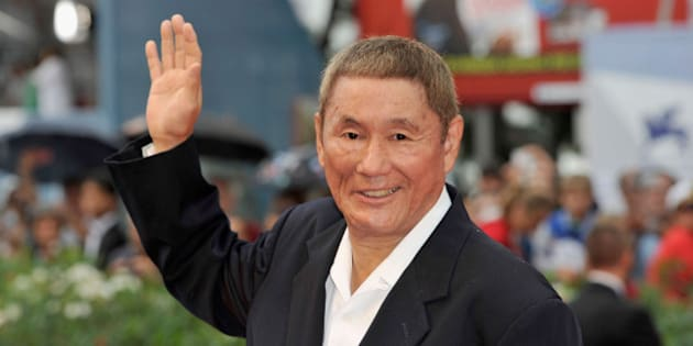 VENICE, ITALY - SEPTEMBER 03:  Director Takeshi Kitano attends the 'Outrage Beyond'  Premiere during the 69th Venice Film Festival at the Palazzo del Cinema on September 3, 2012 in Venice, Italy.  (Photo by Gareth Cattermole/Getty Images)