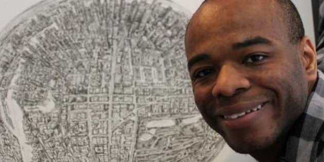 Stephen Wiltshire, autistico, disegna le mappe delle città a memoria. Un talento geniale che ha messo a profitto (FOTO, VIDEO)