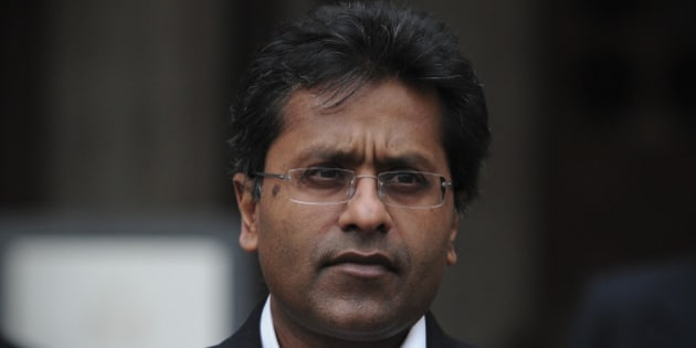Ex-chairman of India's cricket IPL, Lalit Modi, leaves the High Court in central London on March 5, 2012, after a hearing in a libel case brought against him by Former New Zealand cricket captain Chris Cairns. Cairns told the High Court in London on Monday that an accusation of match-fixing had reduced his career to 'dust' and strained his marriage.   Cairns, 41, is suing Lalit Modi, the former chairman of Twenty20 franchise the Indian Premier League (IPL), for substantial libel damages over an 'unequivocal allegation' made on Twitter. AFP PHOTO / CARL COURT (Photo credit should read CARL COURT/AFP/Getty Images)