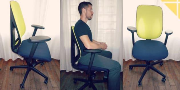 b25168fc47bfee VIE DE BUREAU - Utilisez-vous un siège de bureau adapté et ergonomique   Savez-vous qu un bon siège peut vous épargner de nombreux problèmes de  santé à long ...