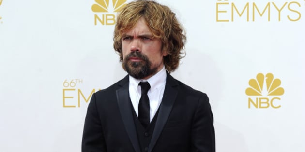 Peter Dinklage arrives at the 66th Primetime Emmy Awards at the Nokia Theatre L.A. Live on Monday, Aug. 25, 2014, in Los Angeles. (Photo by Evan Agostini/Invision for the Television Academy/AP Images)