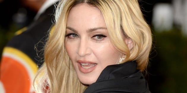Madonna attending The Metropolitan Museum of Art Met Gala, in New York City, USA.(Mandatory Credit: Doug Peters/EMPICS Entertainment)