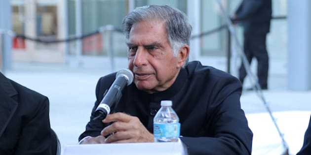 MIAMI BEACH, FL - MAY 15:  Ratan Tata speaks during Pritzker Architecture Prize 2015 at New World Symphony on May 15, 2015 in Miami Beach, Florida.  (Photo by John Parra/Getty Images for Pritzker Architecture Prize)