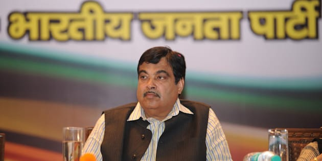 Indian Bharatiya Janata Party (BJP) president, Nitin Gadkari, looks on at a function  in New Delhi on November 5,2012. Gadkari has been the target of corruption allegations from anti-corruption activists for alleged financial impropriety in business dealings in connection with his Purti Group, a group of companies with presence across multiple industries such as real estate, energy, and infrastructure .  AFP PHOTO/SAJJAD HUSSAIN        (Photo credit should read SAJJAD HUSSAIN/AFP/Getty Images)