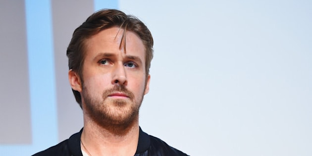 AUSTIN, TX - MARCH 14:  Director/writer Ryan Gosling takes part in a Q&A following the 'Lost River'  premiere during the 2015 SXSW Music, Film + Interactive Festival at Topfer Theatre at ZACH on March 14, 2015 in Austin, Texas.  (Photo by Michael Loccisano/Getty Images for SXSW)