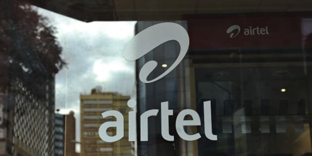 TO GO WITH AFP STORY BY OTTO BAKANO The logo of giant mobile- telecommunications service provider 'Airtel' is branded on a shop window on May 20, 2011 in the Kenyan capital, Nairobi. India will seek to expand its economic footprint in Africa, where its rival China has made major inroads, at the second India-Africa summit next week in Addis Ababa. India's Bharti Airtel -- the world's fifth largest mobile phone company -- acquired the 16-African country unit of Kuwaiti telecom firm, Zain at a cost of $10.7 billion in 2010 when India's imports from Africa were worth $20.7 billion and its exports stood at $10.3 the same year even though China's trade with Africa remains far heftier. AFP PHOTO/Tony KARUMBA (Photo credit should read TONY KARUMBA/AFP/Getty Images)