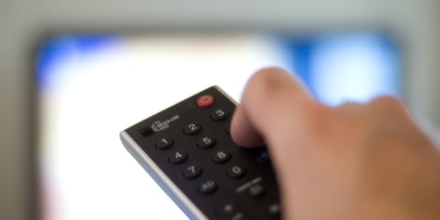File photo dated 01/10/09 of a remote control for a television, as research suggested that each hour spent watching TV daily increases the chance of developing diabetes by 3.4\% in high-risk individuals.