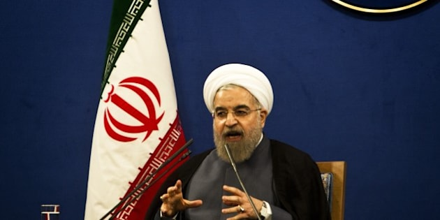 Iranian President Hassan Rouhani speaks during a press conference in Tehran on June 13, 2015. There are still 'many differences over details' of a nuclear deal Iran and world powers are trying to conclude by June 30, Iranian President Hassan Rouhani said.  AFP PHOTO / BEHROUZ MEHRI        (Photo credit should read BEHROUZ MEHRI/AFP/Getty Images)