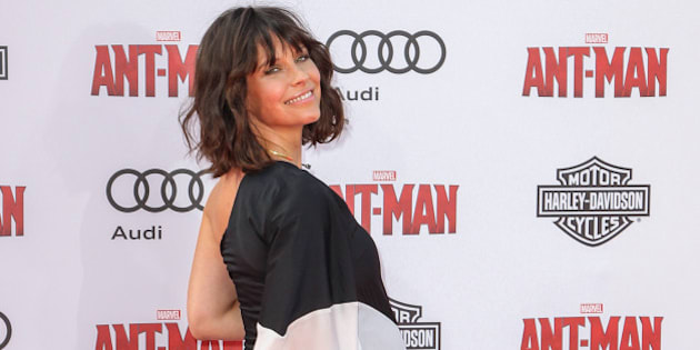 Evangeline Lilly attends the world premiere of Marvel's 'Ant-Man' at the Dolby Theatre on Monday, June 29, 2015 in Los Angeles. (Photo by Paul A. Hebert/Invision/AP)