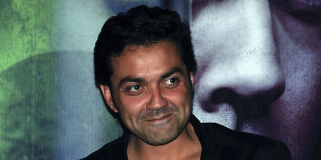 Indian Bollywood actor Bobby Deol poses as he arrives to attend the release of the soundtrack for the Hindi film �Help� in Mumbai, late July 20, 2010.  AFP PHOTO/STR (Photo credit should read STRDEL/AFP/Getty Images)