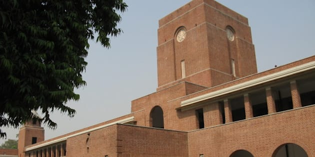 St. Stephen's College, Delhi. Main Building.