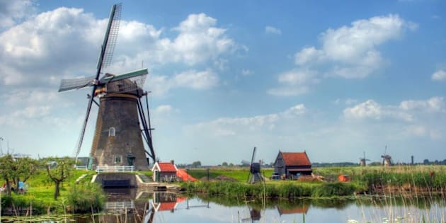 I was lucky enough to visit a national heritage site in Holland on a perfect spring day. The site features many windmills, some still working. These were used to pump water to various sluices and canals.   Details: Handheld, Canon 18-135mm IS, 3 exposure +/- 2 EV, Photmatix default HDR processing.