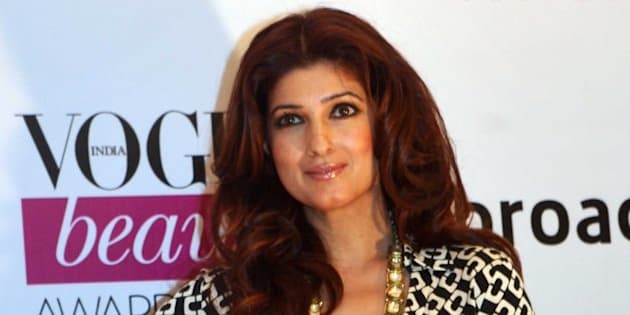 Indian Bollywood actress Twinkle Khanna attends the 2014 Vogue Beauty Awards in Mumbai on July 22, 2014. AFP PHOTO/STR        (Photo credit should read STRDEL/AFP/Getty Images)