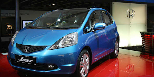 The Honda Jazz is presented on October 3, 2008 at the 2008 Motor show. The Paris motor show opened on October 2 for the press and industry reps. From Saturday October 4 until October 19 it will be open to the public. AFP PHOTO JOEL SAGET (Photo credit should read JOEL SAGET/AFP/Getty Images)