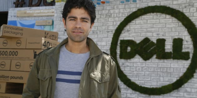 IMAGE DISTRIBUTED FOR DELL - Dell's First-Ever Social Good Advocate Adrian Grenier, in support of #legacyofgood, attends the #DellLounge during the SXSW Festival on Saturday, March 14, 2015 in Austin, Texas. (Jack Plunkett/AP Images for Dell)