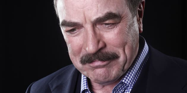 Actor Tom Selleck poses for a portrait Mar. 21, 2012 in New York.   (AP Photo/Carlo Allegri)