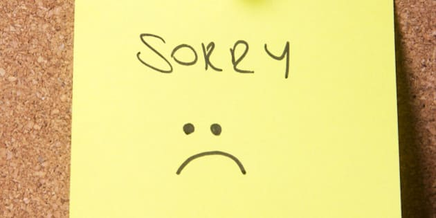 5 Situations Where The Word 'Sorry' Means Nothing