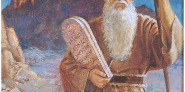 Ten Commandments Mormon Moses