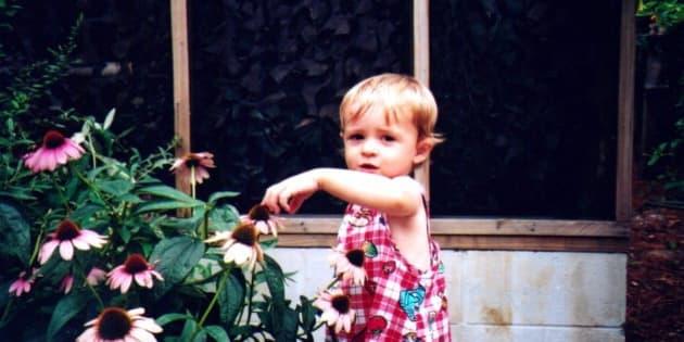 kid in summer