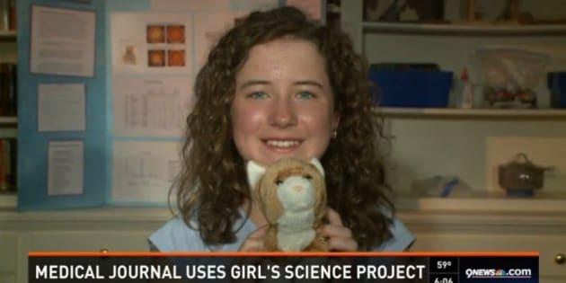 Gaby Zane, 12 anni, fa una scoperta scientifica utilizzando i suoi peluche. Il risultato pubblicato su una prestigiosa rivista medica (FOTO)