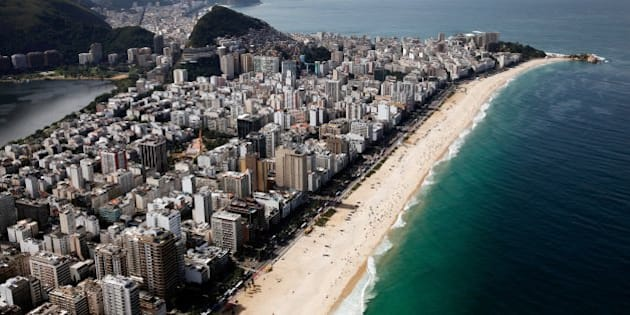 RIO DE JANEIRO, BRAZIL - JULY 07:  A general view of Ipanema Beach on July 7, 2014 in Rio de Janeiro, Brazil.  (Photo by Jamie Squire/Getty Images)