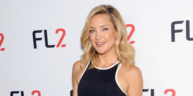 FABLETICS co-founder Kate Hudson participates in the official launch of FL2 Active Wear by FABLETICS at the Gramercy Park Hotel on Thursday, June 4, 2015, in New York. (Photo by Evan Agostini/Invision/AP)