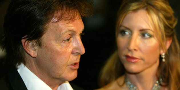 "**FILE** Former Beatle  Paul McCartney and his wife  Heather Mills McCartney attend a benefit gala for the anti-land mines organization ""Adopt-a-Minefield"" in Neuss, western Germany, in this May 28, 2005 file photo.The lawyers who represented Prince Charles and Princess Diana in their divorce are squaring off again in the split between McCartney and his wife. (AP Photo/Hermann J. Knippertz)"