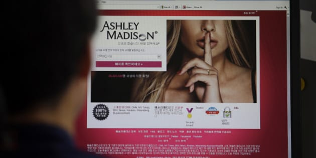 In this June 10, 2015 photo, Ashley Madison's Korean web site is shown on a computer screen in Seoul, South Korea. The Ashley Madison cheating website is making a lucrative, controversial splash in South Korea in the wake of a landmark ruling earlier this year that decriminalizes adultery. So great is the interest here that company executives expect it to be a top-three market globally for them in five years, after the United States and Canada. (AP Photo/Lee Jin-man)